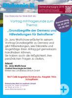 Vortrag zum Thema Demenz (c) Diakonisches Werk Lörrach