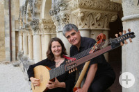 Renaud Garcia-Fons & Claire Antonini (c) Garcia-Fons-Antonini