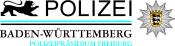 Logo des Polizeipräsidiums Freiburg in Farbe