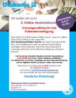 Veranstaltung Seniorenforum (c) Diakonisches Werk im Landkreis Lörrach